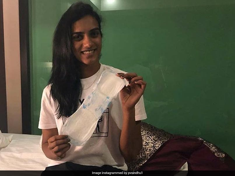 PV Sindhu Says Periods Are Normal, Joins PadMan Challenge