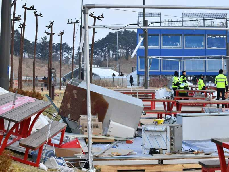 Wind Chaos Injures 16 At Weather-Hit Pyeongchang Winter Games