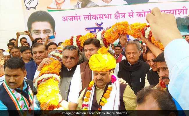 अजमेर उपचुनाव: कांग्रेस के रघु शर्मा ने बीजेपी को हराकर अपने नेता सचिन पायलट का बदला ले लिया