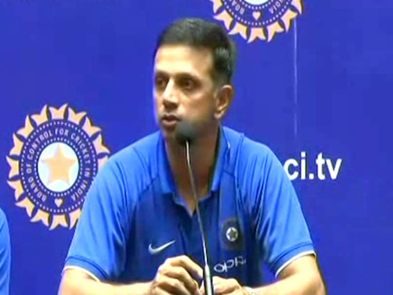 Happy For Boys As They Get To Wear World Cup Winner's Medal: Rahul Dravid