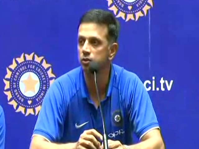 Happy For Boys As They Get To Wear World Cup Winners Medal: Rahul Dravid