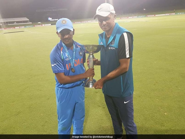 U-19 World Cup: How Rahul Dravids Single-Mindedness Rubbed Off On Indias Budding Stars