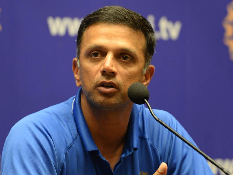 Rahul Dravid's Message To Under-19 Team Not Easy To Get Into The Senior Indian Side