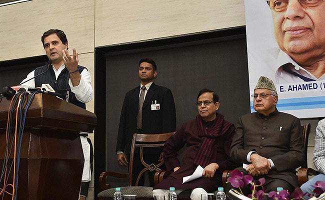 'For Some People, Politics Is All About Themselves,' Says Rahul Gandhi