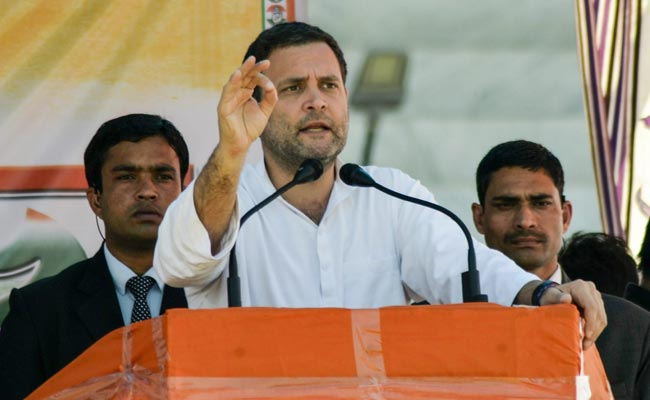 Meghalaya: Rahul Gandhi conducts a roadshow, lashes out at PM Modi