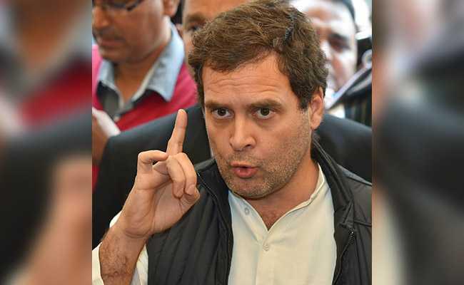 Rahul Gandhi Cites Rajnath Singh's Speech On Nehru To Counter PM Modi