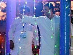 Rahul Gandhi Flags Off Annual Environment Marathon 'Vrukshathon' In Karnataka's Vijayapura