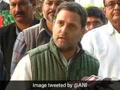 Rahul Gandhi Flags Off Marathon, Runs With Participants In Poll-Bound Karnataka