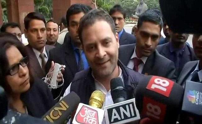 'Something Fishy About Rafale Deal': Rahul Gandhi