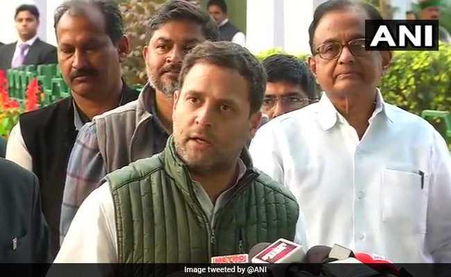 यह केवल महाराष्ट्र के किसानों का मसला नहीं, पूरे देश के किसानों का मुद्दा है : कांग्रेस अध्यक्ष राहुल गांधी