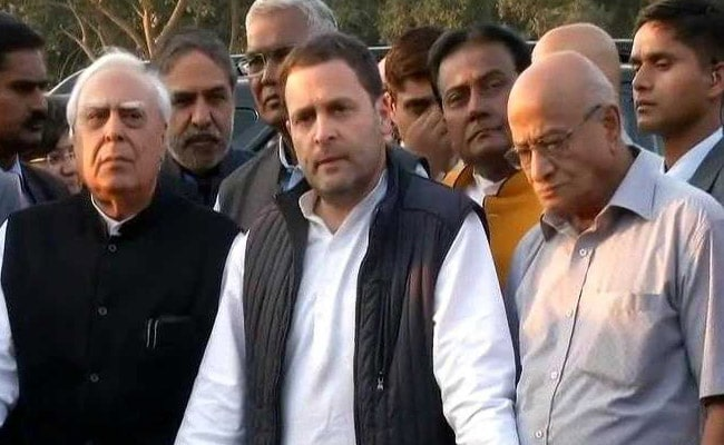 Rahul Gandhi Urges Parties To Unite On Special Status To Andhra Pradesh