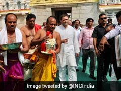 "Yeddyurappa Slams Rahul Gandhi For Visiting Temple ""After Eating Chicken"""