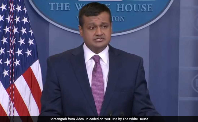 Indian-American Raj Shah Makes White House Press Briefing Debut