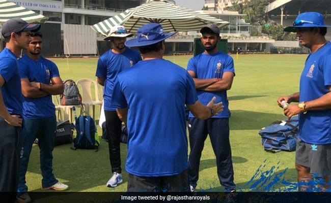 IPL 2018: पसीना बहाते दिखे कुमार मंगलम बिड़ला के बेटे, RR की दमदार शुरुआत की तैयारी