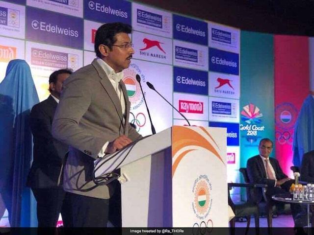 I Want To See India Become Sports Equipment Manufacturing Hub, Says Rajyavardhan Rathore