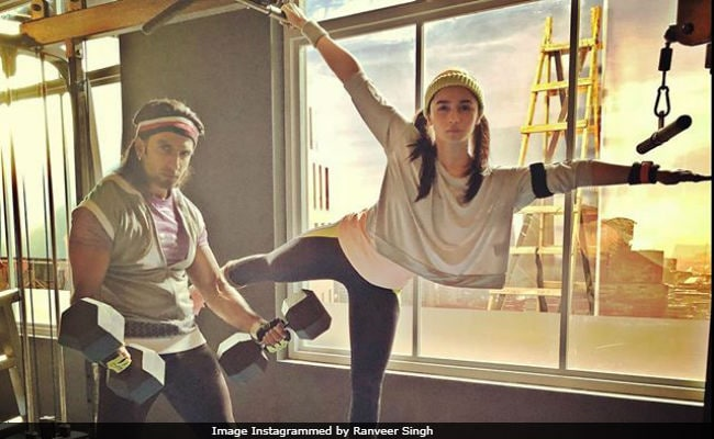 Ranveer Singh And Alia Bhatt Are Giving Us Gym And 'Partner Goals,' Both