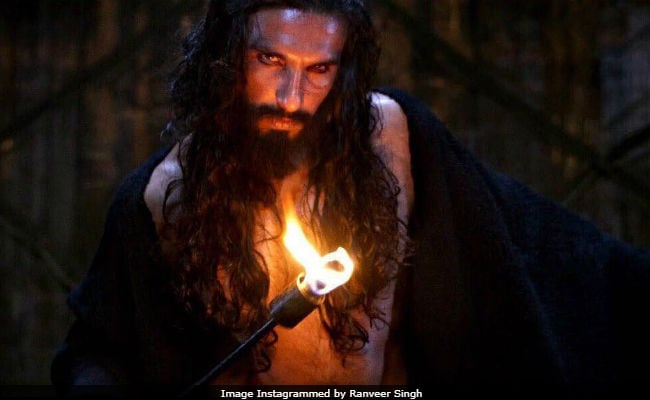 Padmaavat Protest Was 'Bizarre', Bordered On Fascism: Ranveer Singh