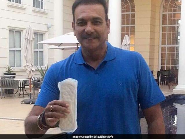 Ravi Shastri Joins PadMan Challenge, Asks Virat Kohli To Spread The Message