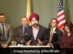 New Jersey's Sikh Mayor Ravi Bhalla Acknowledges Death Threats Against Him, Family