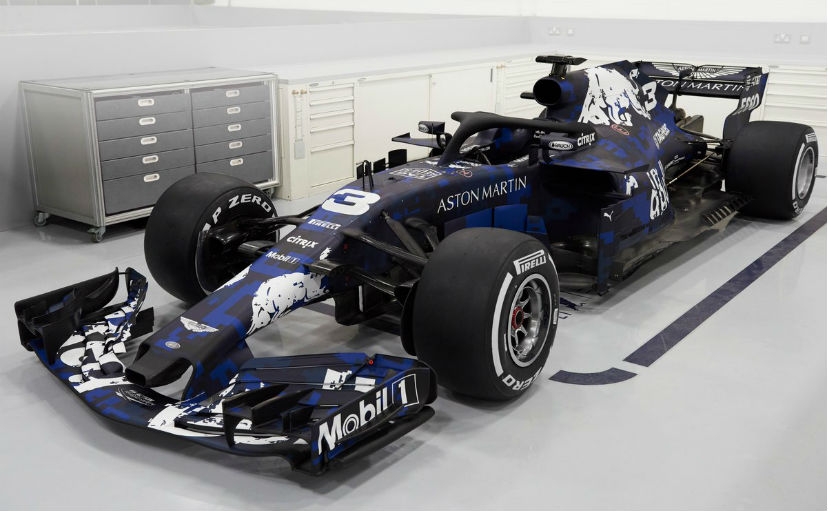 cd47e18ba96 F1  Red Bull Racing Reveals RB14 Formula 1 Car For 2018 With Special  One-Off Livery