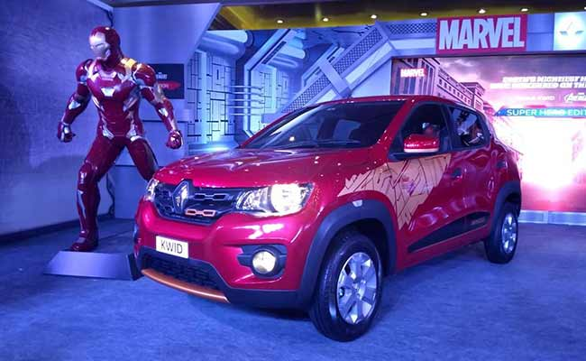 Renault will launch kwid superhero edition in india