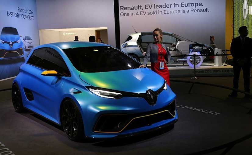 The Renault Zoe can do a 0-100 kmph in just 3.2 seconds
