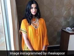 Rhea Kapoor's <i>Mehendi</i> Sneakers Are The Coolest Thing We've Seen In A While