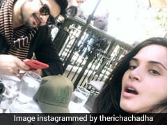 Richa Chadha Had The Most Unusual Meal In LA!