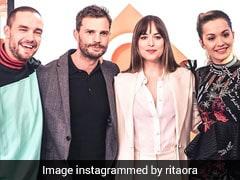 Rita Ora Wears Falguni & Shane Peacock To <i>Fifty Shades Freed</i> Premiere