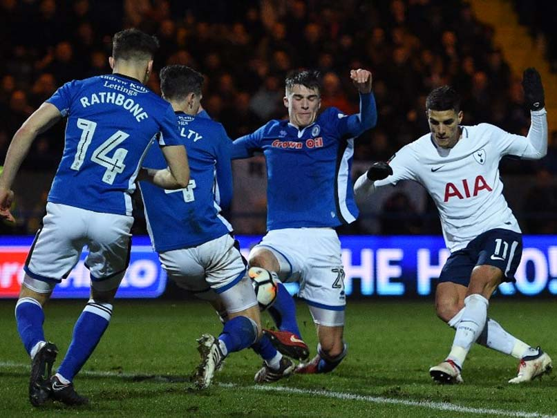 FA Cup: Rochdale Stun Tottenham Hotspur To Force Replay