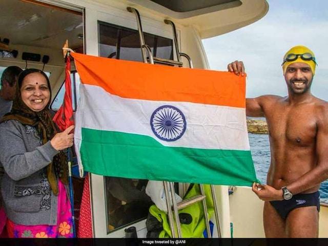 Indias Rohan More Completes Oceans Seven Marathon, Sets Swimming Record