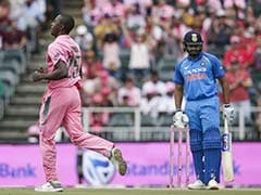 India vs South Africa: Rohit Sharma Becomes Kagiso Rabada's 'Bunny'