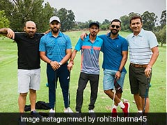 Team India Having A Rocking Time Off The Cricket Field Too