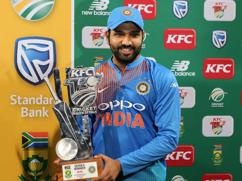 Rohit Sharma Joins Elite List Of Captains To Win Their 1st Four T20Is