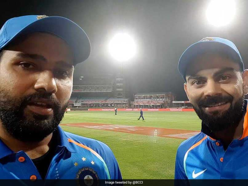 Watch: In One Kind Of First, Rohit Sharmas Quick Selfie Interview With Virat Kohli