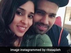 रोहित शर्मा ने दिया पत्नी को Valentines Day गिफ्ट, प्यार से बुलाया इस नाम से