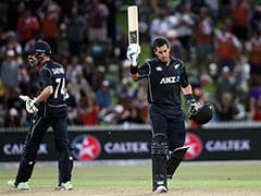 1st ODI: Ross Taylor, Mitch Santner Heroics Get New Zealand Home Over England