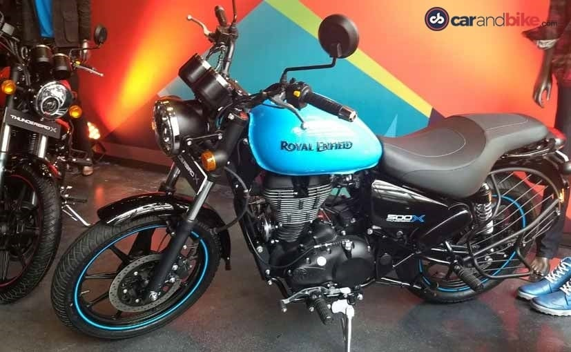 The Royal Enfield Thunderbird X models come with cosmetic upgrades and new equipment