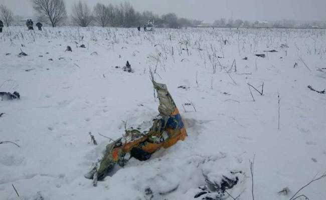 Ice On Speed Sensors May Have Caused Moscow Plane Crash
