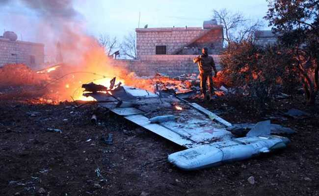 Syria Jihadists Claim Downing Of Russia Plane