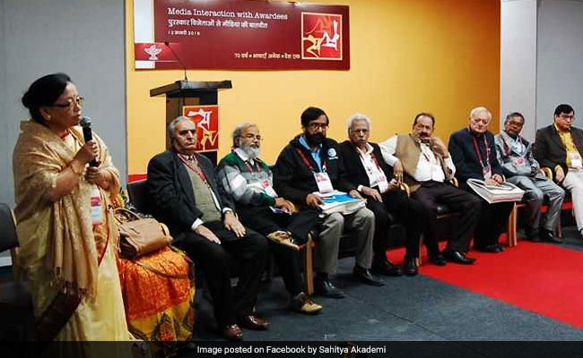 Sahitya Akademi Award Presented To 23 Authors