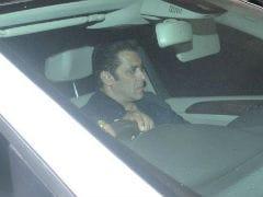 Pics: Sridevi's <i>Chaand Kaa Tukdaa</i>  Co-Star Salman Khan At Anil Kapoor's Home