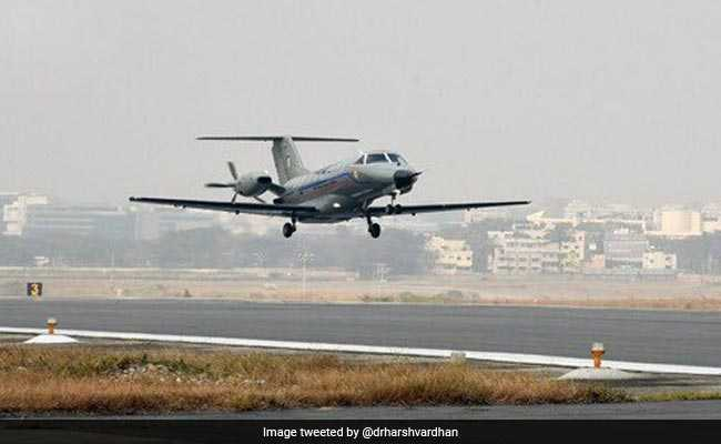 Indigenous Light Transport Aircraft 'Saras' Completes Second Test Flight Successfully