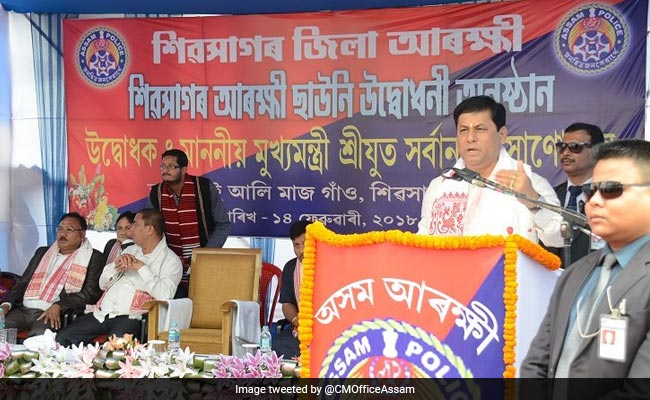 'Sons Of The Soil Will Continue To Rule In Assam': Sarbananda Sonowal