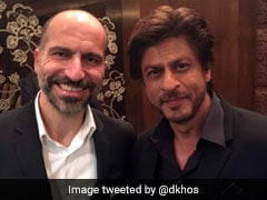 Uber CEO Meets Shah Rukh Khan And Twitter Can't Keep Calm