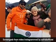 Watch: Shahid Afridi Wins Hearts With Respectful Gesture Towards Indian Flag