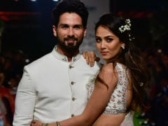 Lakme Fashion Week 2018: Shahid Kapoor And Mira Rajput Turn Heads As Showstoppers