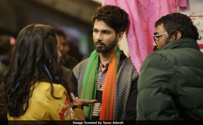 Shahid Kapoor and Shraddha Kapoor Begin Shooting for Batti Gul Meter Chalu