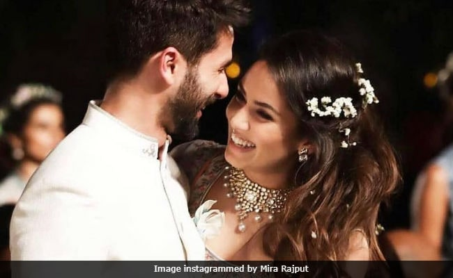 This Photo Of Shahid Kapoor And Mira Rajput Is The Internet's New Favourite