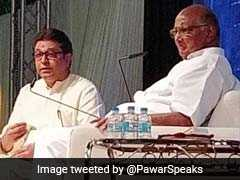 "Sharad Pawar, Interviewed By Raj Thackeray, Sees ""<I>Acche Din</I>"" For Congress"